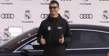Real Madrid Players Receive 2018 Audi Vehicles