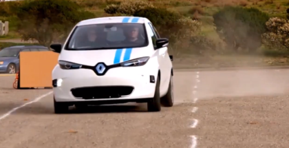 Renault CALLIE Autonomous Driving Car
