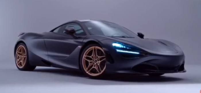 Satin Black & Gold MSO McLaren 720S inspired Bruce McLaren – Video