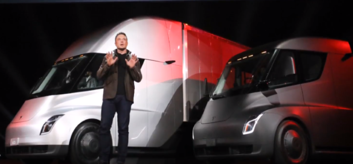 Tesla Semi Truck Unveiling – Video
