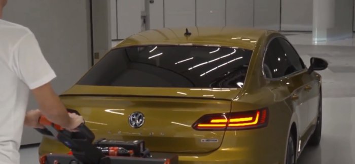 VW Wind Tunnel Efficiency Center – Video