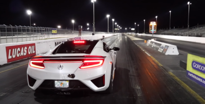 2017 Acura NSX Drag Racing (1)