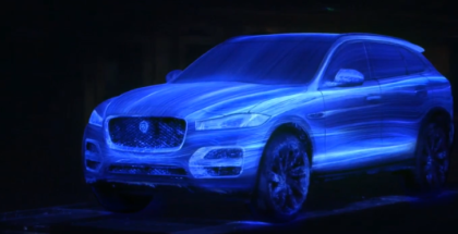 2018 Jaguar F-Pace Painted With Paint Droplets
