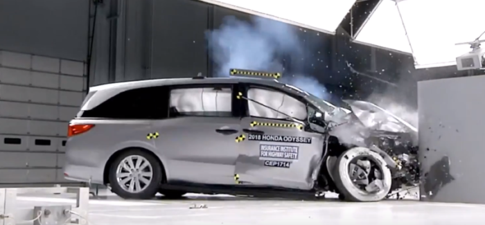 2018 Kia Soul, Honda Odyssey, Lincoln Continental, Mercedes Benz GLC Crash Test – Video