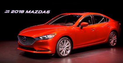 2018 Mazda6 SKYACTIV-G Cylinder Deactivation Engine