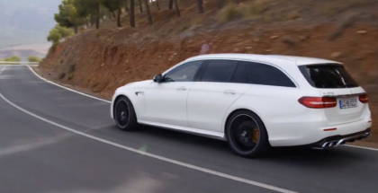 2018 Mercedes AMG E63 S Wagon Tearing Up The Country Road