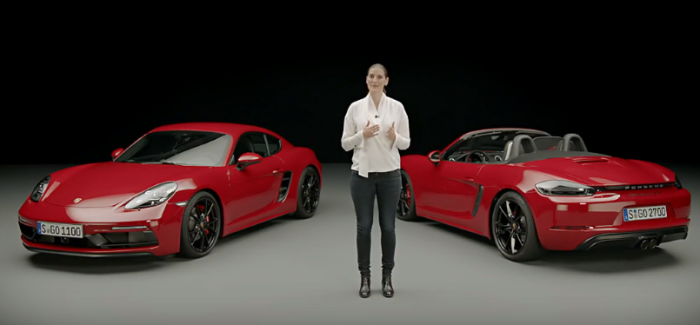 2018 Porsche 718 Boxster GTS and 718 Cayman GTS Explained – video