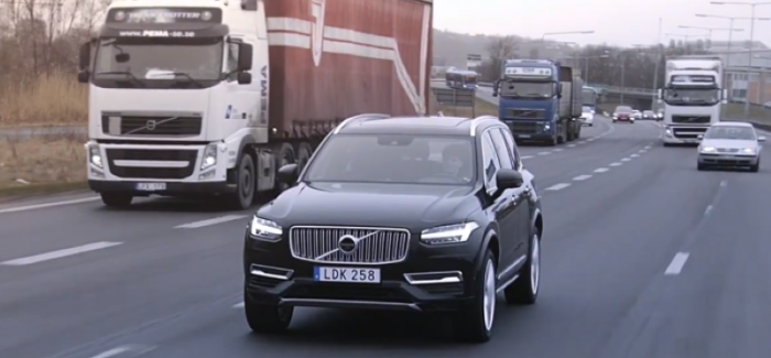2018 Volvo XC90 Premium SUV Autonomous Drive With Swedish Families – Video