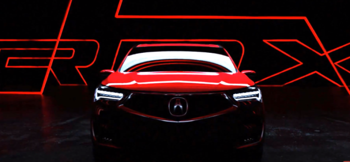 2019 Acura RDX Prototype Teaser – Video