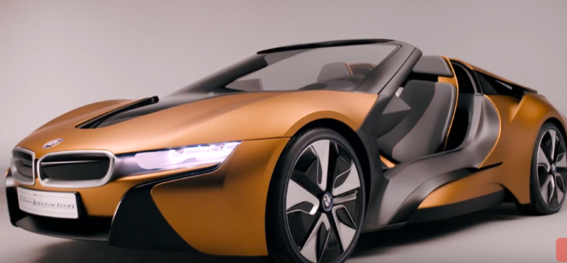 2019 BMW i8 Roadster vs BMW i Vision Future Interaction ...