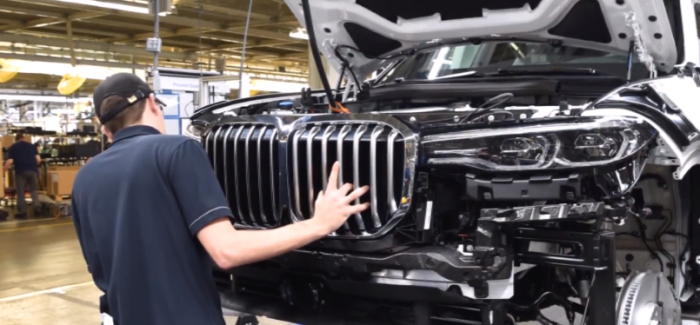 BMW X7 Pre Production Model Factory – Video