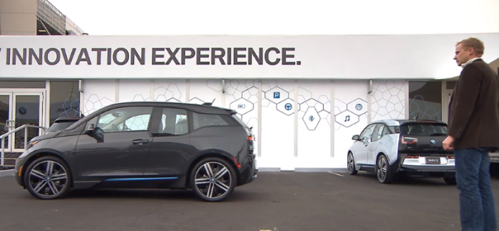 BMW i3 Gesture Control Self Parking – Video
