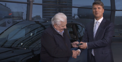 Delivery Of The 100,000th Electrified BMW Vehicle