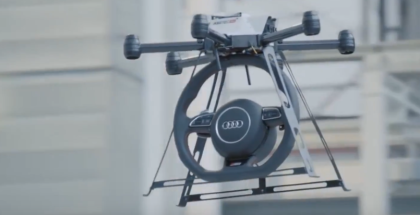 Drone Testing At Audi Factory