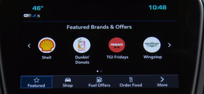 GM In-Car Purchase App Marketplace