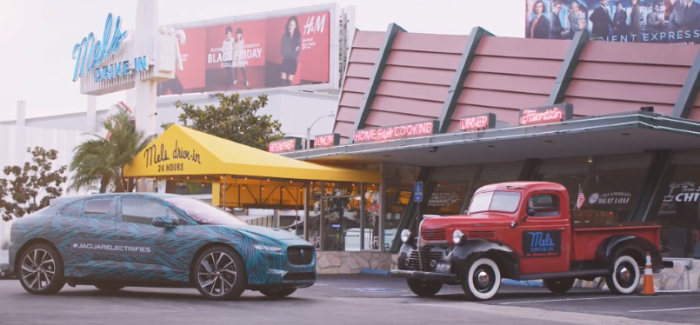 Jaguar I PACE Testing In Los Angeles U2013 Video