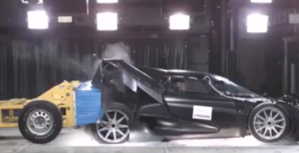 Koenigsegg Regera Crash Test