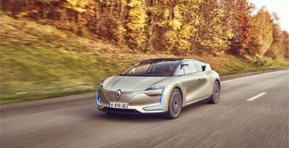 Renault SYMBIOZ Self Driving Electric