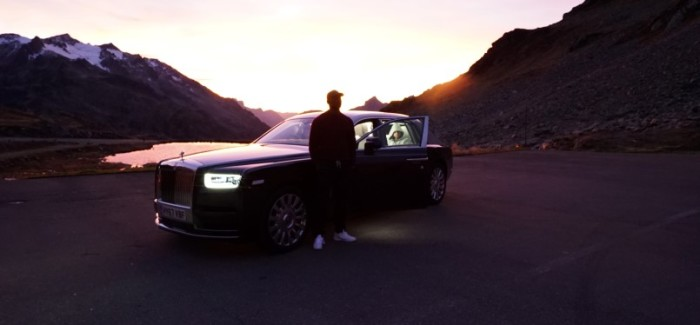 Skepta Turns 2018 Rolls Royce Phantom Into Recording Studio – Video