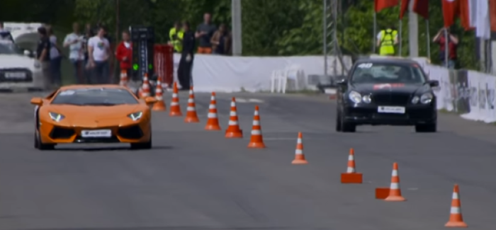 1200HP Lamborghini Aventador VS Tuned Mercedes AMG – Video