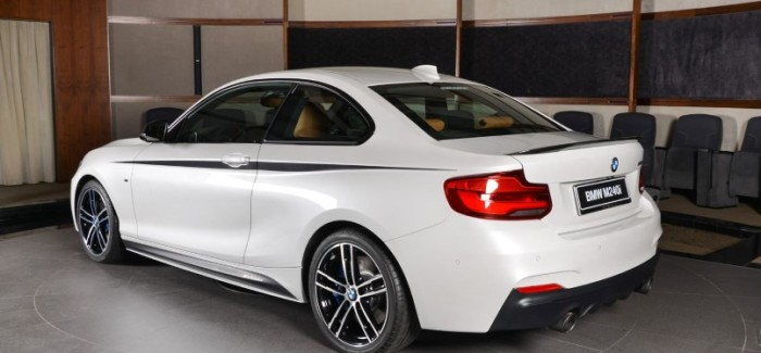 2018 Bmw M240i Coupe With M Performance Body Kit Video Dpccars
