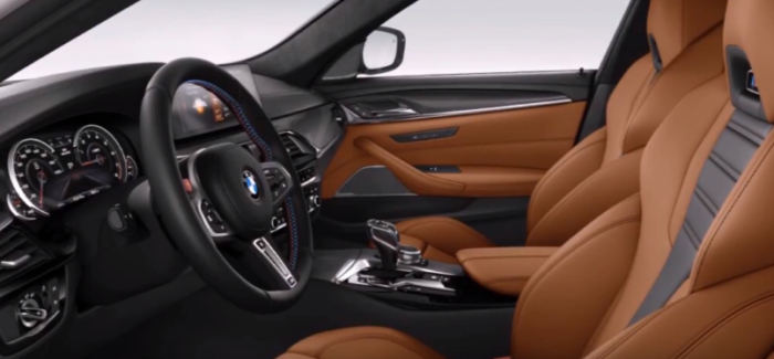 2018 BMW M5 Interior Colors – Video | DPCcars