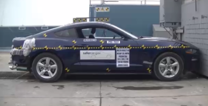 2018 Ford Mustang Crash Test & Rating