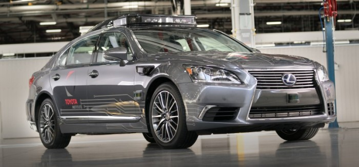 2018 Lexus LS 600hL Automated Driving Research Vehicle