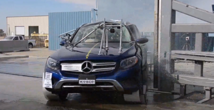 2018 Mercedes GLC 300 MPV Crash Test