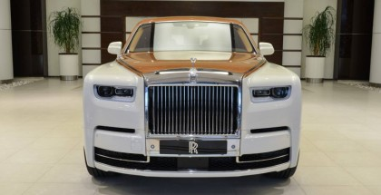2018 Rolls‑Royce Phantom SWB In Cornish White and Tuscan Sun Color