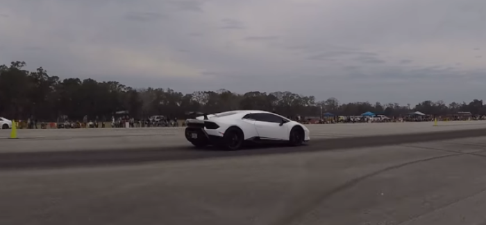 800HP Ferrari F12 vs Lamborghini Huracan Performante – Video