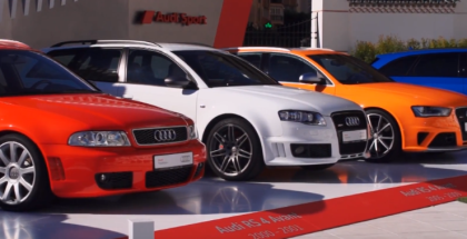 All Generations Of Audi RS2 & RS4 Avant