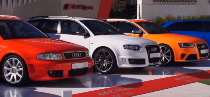 All Generations Of Audi RS2 & RS4 Avant – Video