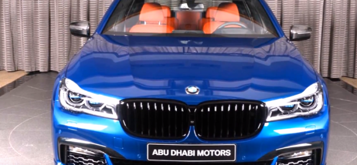 Avus Blue 2018 BMW 750Li Individual – Video