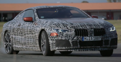 BMW 8 Series Coupe Prototype Testing