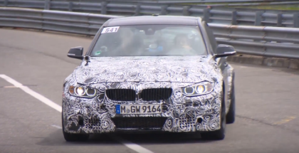 BMW M3 & M4 Development Driven By Bruno Spengler at Nurburgring