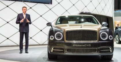 Bentley Mulsanne Extended Wheelbase Unveiling