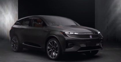 Byton Crossover Electric Concept