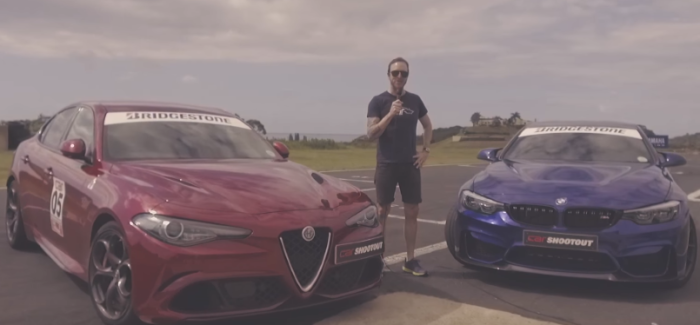 Drag Race – BMW M4 CS vs Alfa Romeo Giulia QV – Video