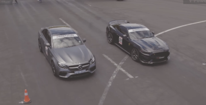 Drag Race - MercedesE63 S vs RTR Mustang Savage (1)