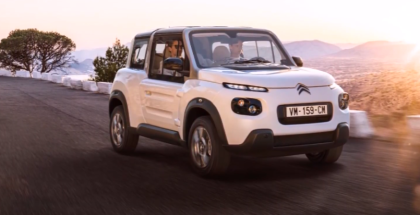 Electric Citroen E-Mehari Explained