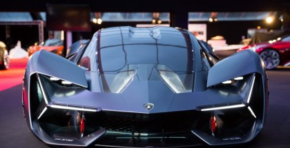 Electric Lamborghini Terzo Millennio At The Festival Automobile International Of Paris (2)