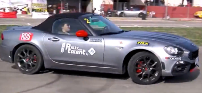 Fiat 124 Spider Abarth Track Action – Video