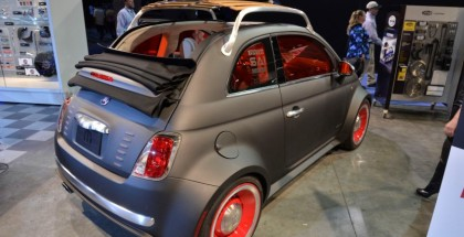 Fiat 500 Cabrio Beach Cruiser Widebody1