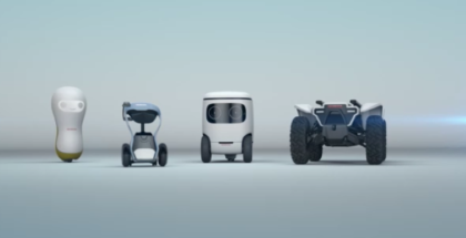 Honda Robotic Devices AT CES 2018