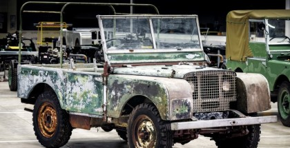 Land Rover Original 4x4 Will Start Restoration In 2018