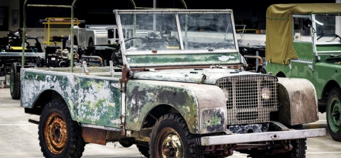 Land Rover Original 4×4 Will Start Restoration In 2018 – Video