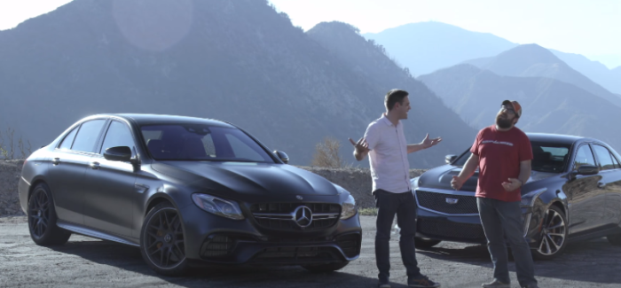 1200 HP Mercedes-Benz CLS63 AMG vs 610 HP Lamborghini Huracan LP610-4 – Video