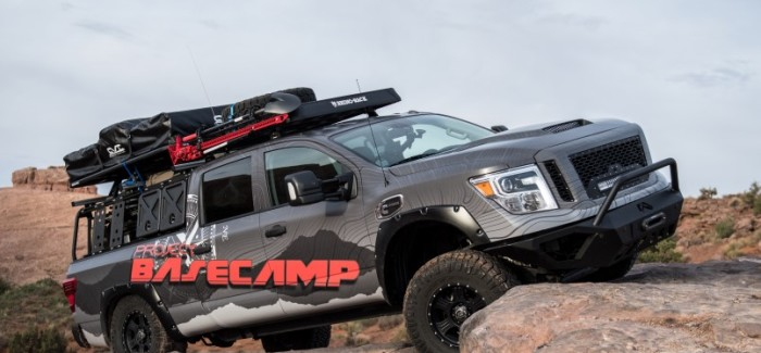 Nissan TITAN XD PRO-4X Project Basecamp Explained – Video