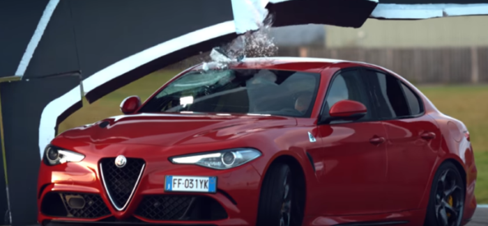 Top Gear Alfa Romeo Giulia Wall Challenge – Video